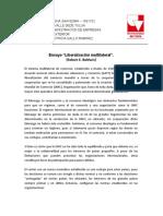 """Ensayo """"Liberalización multilateral""""..docx"""