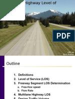 Freeway & Highway LOS (internet)