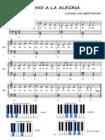 HIMNO A LA  ALEGRIA PIANO