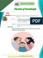 CIENCIA Y TECNOLOGÍA 5 y 6 JUAN ABDEL 07 de setiembre