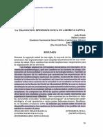 FRENK, LOZANO, BOBADILLA 1994_la transición epidemiológica en América Latina