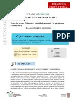 FCE I F2 21 - 25 sep
