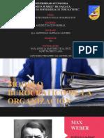 MODELO BUROCRATICO DE LA ORGANIZACION