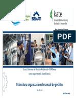 3 Estructura organizacional y Manual de gestión -ppt 6
