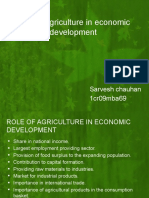 Role of Agriculture in Economic Development