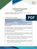 Guía de actividades y Rúbrica de evaluación - Fase 2 - Identificar el escenario y analizar la estabilidad.pdf