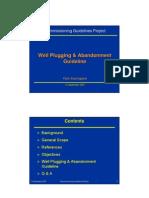 Presentation Plugging