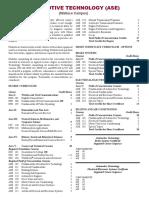 ASE_Catalog_Information