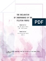 Santos, Aira Kristelle M. - The Declaration of Indepence of the Filipino People.docx