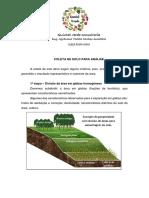 Coleta de solo simplificada - Quintal.Verde.Consultoria