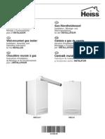 HBD 24 F - Instructiuni de instalare