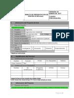 Anexo 2  Formato de Presentacion de Proyectos de Aula-SIG