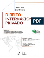 # Direito Internacional Privado (2020) - Jacob Dolinger e Carmem Tibucio