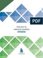 Guía de redacción ISFODOSU