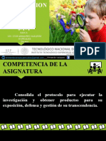 ENCUADRE TALLER DE INVESTIGACION 2