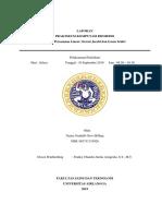 Laporan Praktikum Komputasi Biomedis