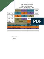TT BTECH & BCA 14.09.2020 ONLINE