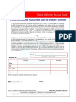 kotak Mutual Fund PIN Generation Form