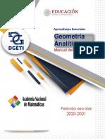 Manual Geometria Analitica Alumno DGETI