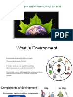 intro to Environmental science