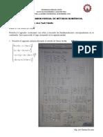 Examen Parcial metodos numericos 01 de Julio 2020