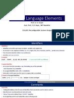 4_Verilog Language  Elements