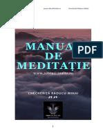 Manualul de Meditate Vibratii Inalte