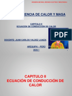 TRANSFERENCIA DE CALOR UCSM 2020.1 CAPITULO 2