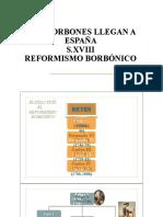 ESPAÑA-S.XVIII Reformismo Borbónico (1).pptx
