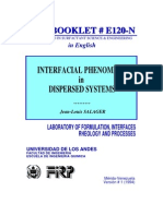 Inter Facial Phenomena in Dispersed System
