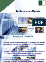 cout des facteurs algerie 2019