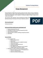 flange management