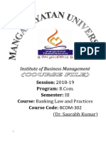 course file Banking  Law-2019.doc