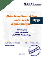 rapport de stage-Réalisation d'un site web dynamique.pdf