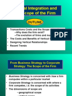 Lecture 7 - Corporate Strategy - Vertical Integration