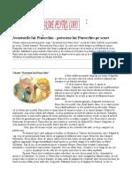Aventurile lui Pinocchio - povestea lui Pinocchio pe scurt