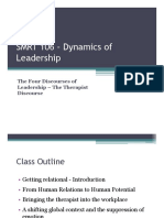 The Four Discourses of Leadership - The Therapist.ONE PAGE.pdf