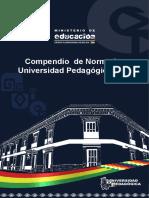 COMPENDIO NORMATIVA UNIVERSIDAD PEDAGOGICA 2019 (2)