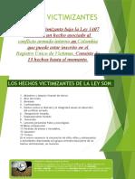 PRESENTACION HECHOS VICTIMIZANTES