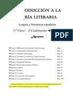 Introducción a La Teoría Literaria (Apuntes)
