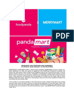 MM Disclosure - 23 Sept. 2020 - MerryMart and FoodPanda Partnership - 'Dark Grocery'