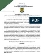 Guvern Hotarare CNSU Alegeri Locale