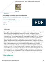 Docking and Scoring Functions_Virtual Screening - Sotriffer - - Major Reference Works - Wiley Online Library.pdf
