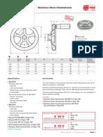catalog hand wheel