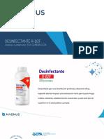 Desinfectante R82F - presentación