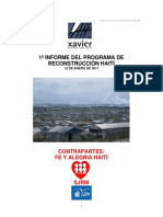 INFORME POST TERREMOTO HAITÍ