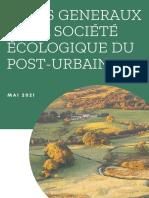 Lancement des Etats généraux de la Société écologique du Post-urbain