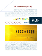 [CineMAX]-Watch! Possessor Movie [2020] Online Full and Free.pdf