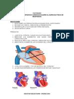 CUESTIONARIO del miocardio