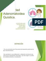 Equipo 1 Enfermedad Adenomatoidea Quística